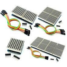 1/2/4/8 bit max7219 dot matrix módulo microcontrolador módulo kit diy mcu display led módulo de controle kit
