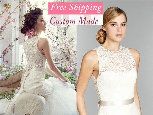 Frete Grtis Fr-06 Com Revestimento Elegante Sereia Organza Apliques De Renda Branco/2019 Vestido De Noiva Marfim Vestido De Noiv