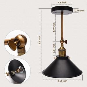 Image 4 - Nowoczesne Vintage Loft metalowe podwójne głowice kinkiet Retro mosiądz kinkiet styl ludowy E27 Edison kinkiet lampa oprawy 110V/220V
