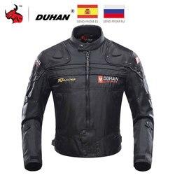 Duhan Motorjas Motorrijden Jas Winddicht Motorfiets Full Body Beschermende Kleding Armor Herfst Winter Moto Kleding
