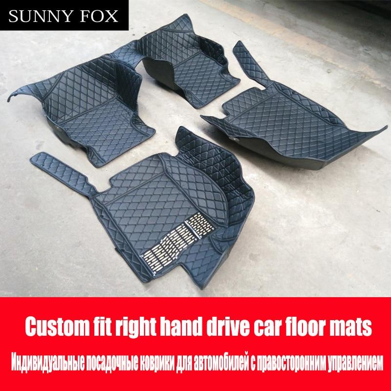 Right hand drive/RHD for Mercedes Benz W169 W176 W245 W246 W204 W205 A B C class 180 200 250 heavy duty case liners rugs