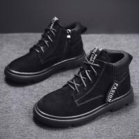 New Trend Kids Boy Boots Luxury Brand Boy Leather Boots Anti Slip Walking Boot Kids Boy Good Quality Baby Boys Zip Boots Black