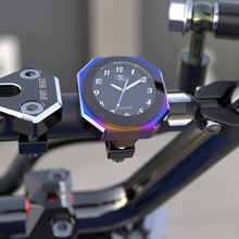 Spirit Beast Motorcycle Handlebar Clock Thermometer Gauge for Piaggio Honda Suzuki Yamaha Harely Benelli Ducati BMW KTM Vespa