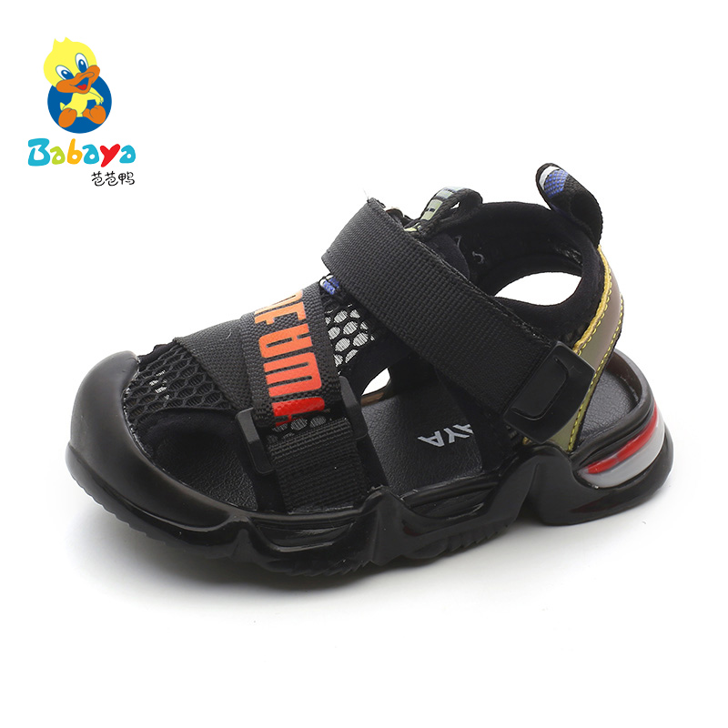 Babaya Baby Sandals Children Summer Shoes Baby Girls Mesh Beach Shoes Breathable Summer 2020 New Baby Boys Sandals