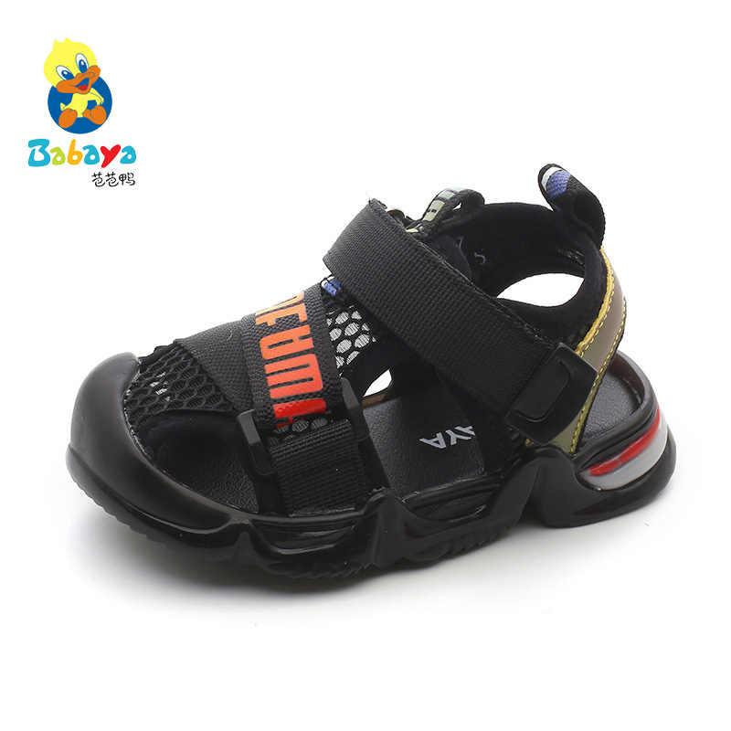 Babaya Đan Trẻ Em Mùa Hè Giày Bé Gái Lưới Đi Biển Thoáng Khí Mùa Hè 2020 Cho Bé Mới Sandal Bé Trai