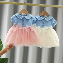 2021 Newborn Baby Girls Summer Clothes Dress for 1 year Toddler Girl Baby Clothing Princess Birthday Party tutu Dresses Vestidos