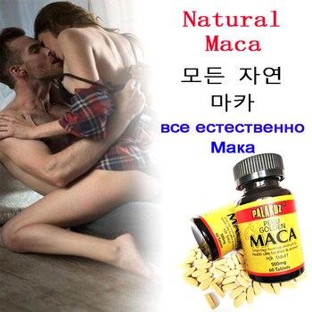 Extractos de Maca dorada de Perú para hombres, crecimiento muscular, fuerza, capacidad...