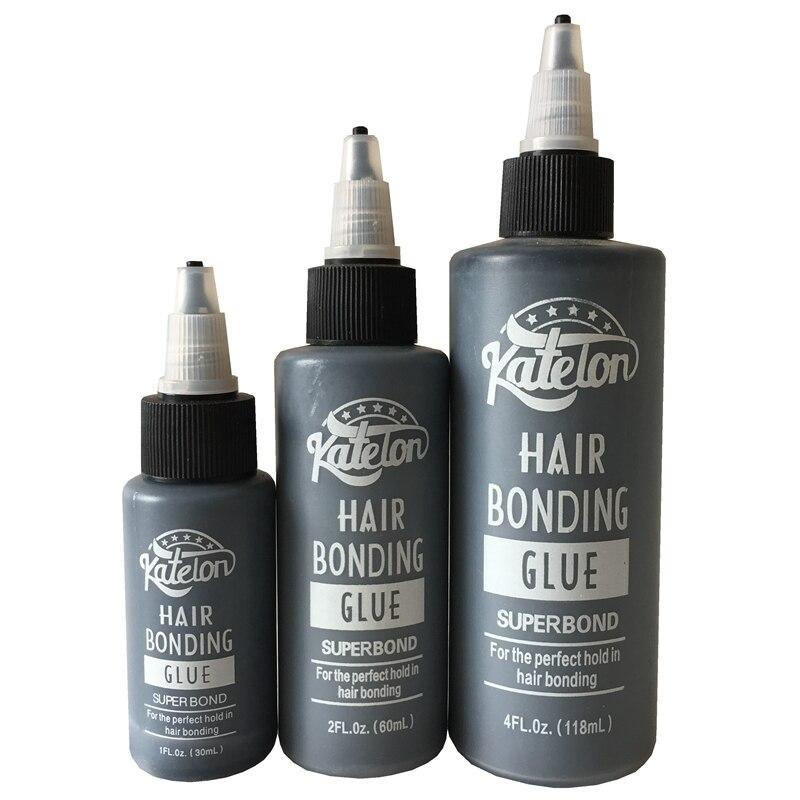 1 Bottle/Lot 2 Oz 60 Ml Katelon Black Hair Weaving Bond Anti-fungus Hair Bonding Glue