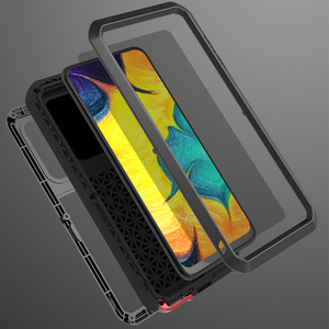 Image 5 - Love Mei Metal Case For Samsung Galaxy A30 A20 Armor Shockproof Phone Cover For Samsung A30 A20 Rugged Full Body Anti Fall Case