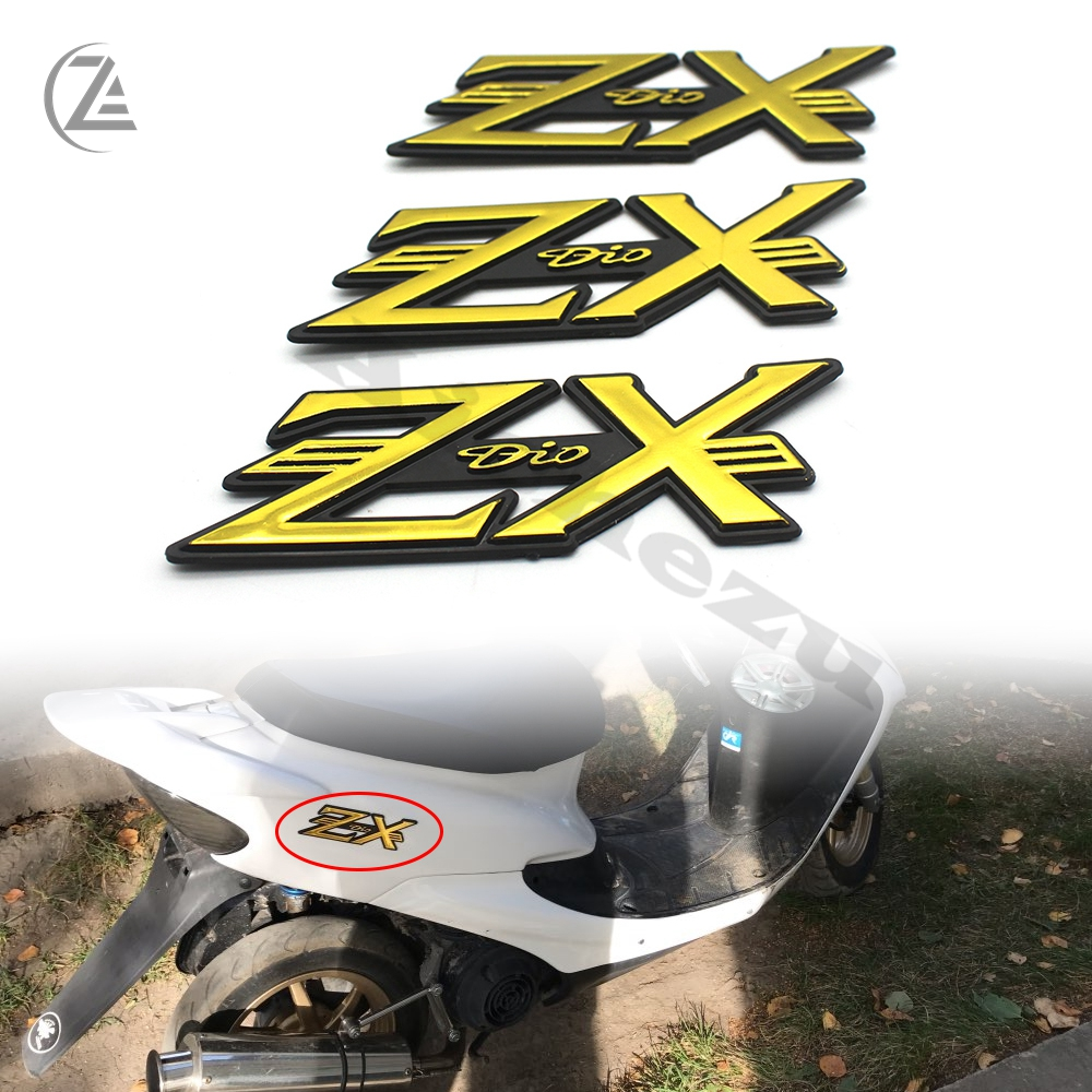 ACZ Motorcycle Scooter Body Fairing Sticker Logo Stickers Decals for Honda DIO ZX AF34 AF35