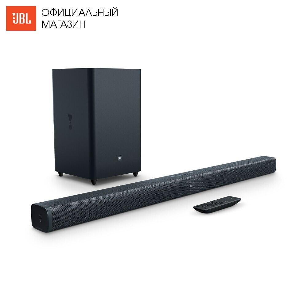 цена Home Theatre System JBL BAR21BLKEP Electronics Audio music centre subwoofer Video sound bar wireless acoustic system 2.1 онлайн в 2017 году