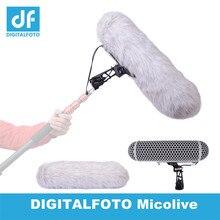 O vento do microfone protege o sistema de suspensão da montagem do choque do pára brisa da gaiola para microfones montados