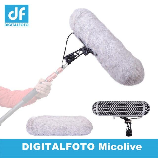 Système de Suspension de montage de choc de pare brise de Cage de protection de vent de Microphone pour la collection audio de HD de Microphones de RODE VS dirigeable de RODE
