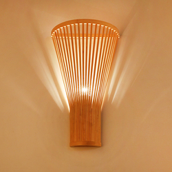 Chinese Bamboo Wall Lamp Creative living room yard Wall Light Farm Tea House Hotel Staircase Corridor cafe restaurant lig