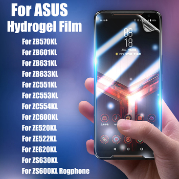 UGI 5-1 PCS Hydrogel Film Screen Protector For ASUS ZB 570 601 631 633 KL ZC 551 553 554 600 KL ZE 520 522 620 KL ZS 600 630 KL image