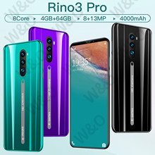 Rino3 Pro Global Version 5.8 Smartphone Full Screen Octa Core 4000mAh 4GB +64GB 4G LTE 5G Network Mobile Phone