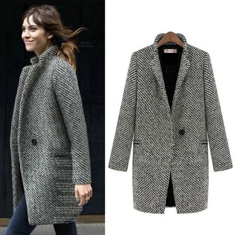 Manteau femmes veste grande taille hiver Outwear laine 2020 mode Sexy dames surdimensionné Cardigan velours Plus coton doux rétro marée   AliExpress