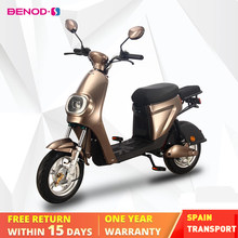 Motocicleta elétrica 25km/h bateria de lítio elétrico ciclomotor elétrico ebicycle 48v 20ah scooter motor elétrico elektro motorrad