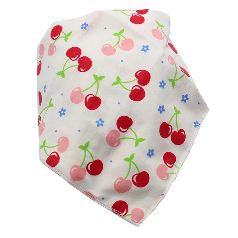 Baby Bibs Waterproof Triangle Cotton Cartoon Child Baberos Bandana Bibs Babador Dribble Bibs Newborn Slabber Absorbent Cloth 3