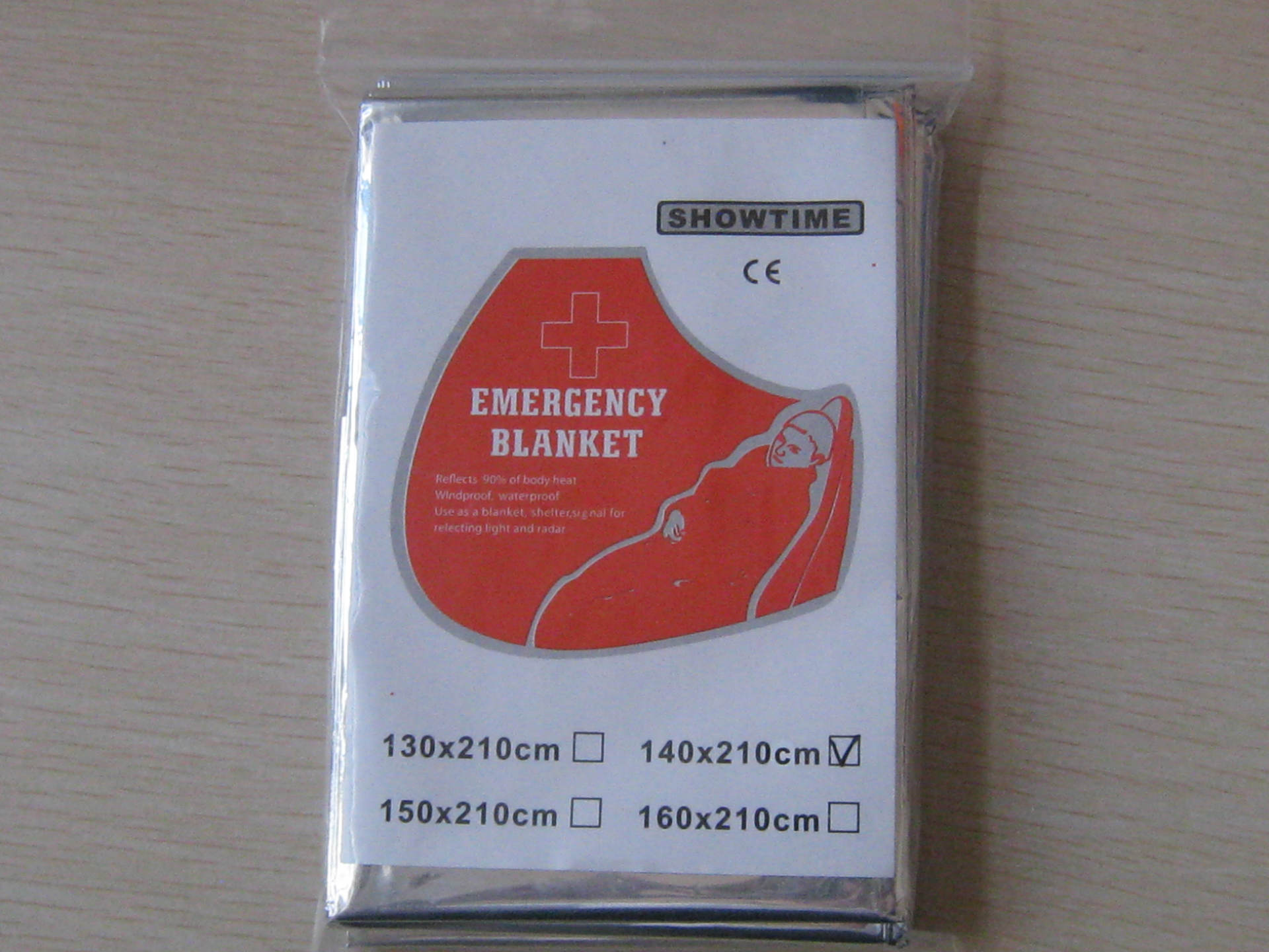 Manufacturers Direct Selling Emergency Blanket Emergency Survival Blanket 140X210 Cm