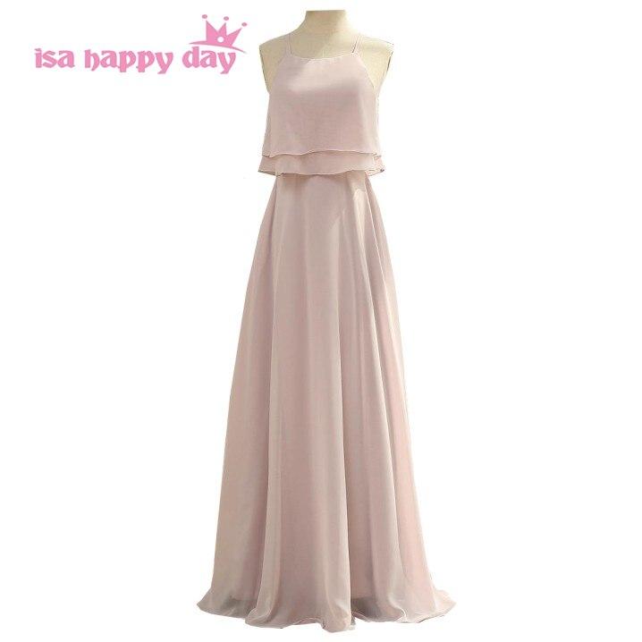Sexy femmes élégantes dames femmes grande taille partie longue une ligne rose clair robe de soirée robes formelles robes 2019 W4304