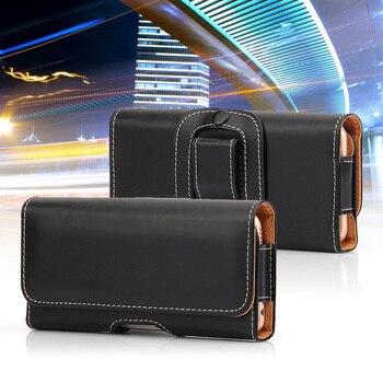Кожаный чехол для телефона huawei P10 Lite P20 P30 Pro Nova 4 3 3i Honor 8X 8C 10 V10 8 9 Lite 7A 7C, поясной чехол