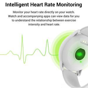 Image 2 - LYKRY Zl01 スマート腕時計レディースメンズスポーツ 1.3 インチ画面フィットネストラッカー心拍数モニター IP67 防水メッセージリマインダー時計