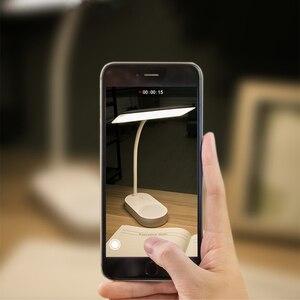 Image 5 - Innovativo Doppio Design Della Lampada USB di Ricarica 5 Smette di Freddo/Caldo Lampada Da Tavolo Luce Scrivania Lampada Da Tavolo Lampade Da Tavolo A Led flexo Lampada Flessibile