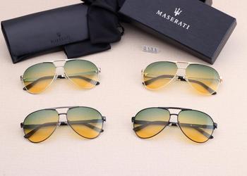 2021 Maserati-Series Levante Ghibli mężczyźni okulary luksusowe marki okulary z filtrem polaryzującym do jazdy UV400 mężczyźni Pilot panie para Watche tanie i dobre opinie Luxury ru QUARTZ Stop 5Bar NONE Unisex Sunglasses