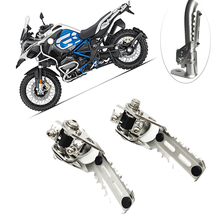 Motorcycle Highway Front Foot Pegs Folding Footrests Clamps 22mm 25mm For BMW R1200GS LC R 1200 R1200 GS adv adventure 2013-2019