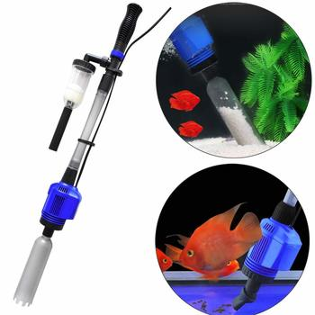 Aquarium Gravel Cleaner Automatic Water Changer Sludge Extractor Sand Washer Filter Pump for Fish Tank  7