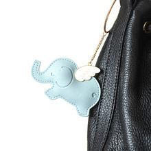 Креативный брелок для ключей в виде животного из искусственной