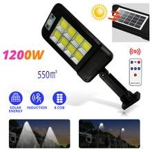 Wall-Lamp Enhance-Light Lantern Remote-Control Square Upgrad Highway Garden Outdoor Solar