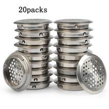 Вентиляционное отверстие из нержавеющей стали круглое отверстие 35 мм/1,38 дюймов диаметр установки круглый Сетчатый Шкаф для шкафа шкаф s