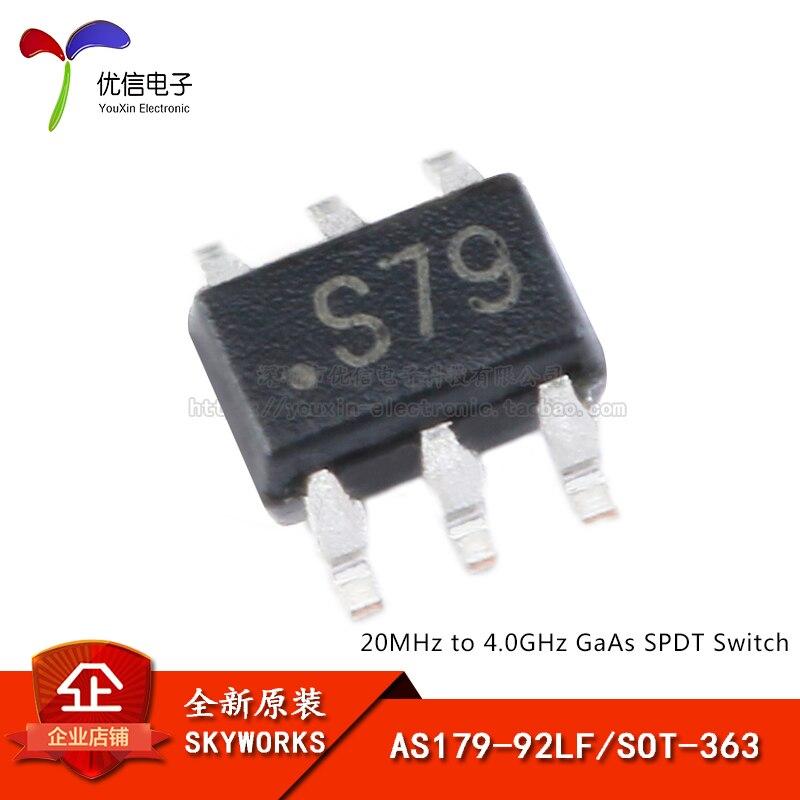 AS179-92LF SOT-363 подлинный оригинальный однополюсный двойной бросок (SPDT) РЧ переключатель чип