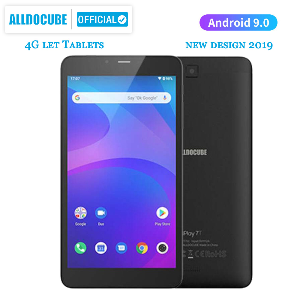 "ALLDOCUBE IPlay 7T 4G LTE Kids Tablet 6.98"" HD IPS Android 9.0 Tablets 16GB ROM Dual Ai 4 Core Smart Gps"