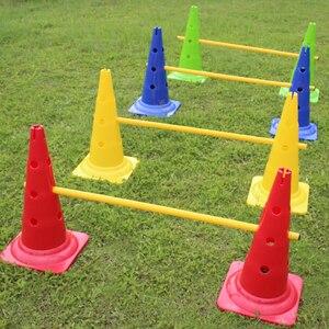 Conos de entrenamiento para baloncesto, Rugby, deportes, marcador de fútbol, barrera de fútbol, conos de plato de patinaje Multicolor