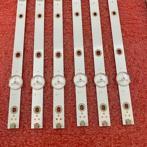 Image 3 - 12 PIÈCES LED bande de rétro éclairage pour 55PUS6503 55PUS7503 55PUS6162 55PUS6262 55PUS6753 55PUS7303 55PUS6703 LB55073 TPT550U1 QVN05.U