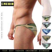 2020 CMENIN Sexy Gay Underwear Men Thong Men Jockstrap Camouflage Mens Thongs And G strings Sissy Panties String Men Lingerie