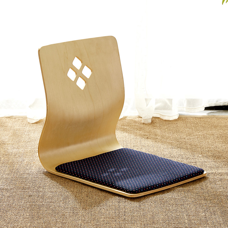(2pcs/lot) TATA Japanese Korean Seating Zaisu Chair Living Room Furniture Asian Traditional Tatami Floor Legless Chair Seat