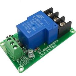 Один 1-канальный релейный модуль 30 А с изоляцией оптрона 5 В/12 В поддерживает триггер высоких и низких частот