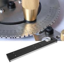 Алюминиевое муфтовое соединение джиг для клещи Калибр деревообрабатывающий верстак пилы инструменты Woodrwoking инструмент для клещи