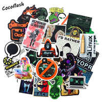 50pcs/lot Programming Geek Hacker Developer Language JAVA Logo Series For Laptop Motorcycle Skateboard waterproof DIY Stickers