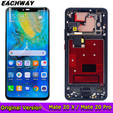 Voor Huawei Mate 20 Pro Lcd Touch Screen Digitizer Reparatie Mate 20 X Originele Lcd Voor Huawei Mate 20 lcd Mate20 Pro Screen