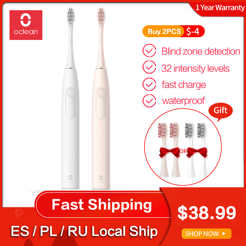 Oclean Electric Toothbrush Sonic Zi Fast-Charge Automatic Ipx7 Waterproof USB Adult