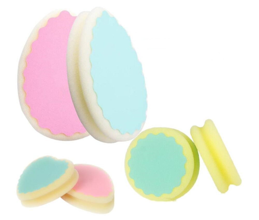 Hot 1000pcs/lot Magic Painless Women Hair Removal Sponge Soft Cute Depilation Tools Skin Care Sponges Beauty Ladies Lovely