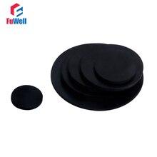 10 шт. черный плоский резиновый уплотнитель плоская Подушка твердое уплотнение резиновое кольцо уплотнительное кольцо 10 мм~ 50 мм OD NBR плоская прокладка кольцевая шайба