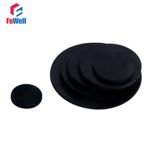 10pcs Black Rubber Flat Gasket Plain Cushion Solid Sealing Rubber Ring Gasket 10mm~50mm OD NBR Flat Gasket Ring Washer sale 364pcs set nylon material black nylon rubber flat ring repair washer gasket for metric m2 m8 wholesale quick delivery csv