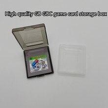 Boîte de rangement de cartes de jeu de haute qualité pour Gameboy GB GBC