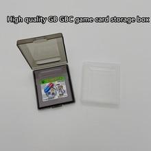 Caja de almacenamiento de alta calidad para tarjetas de juego, para Gameboy GB GBC
